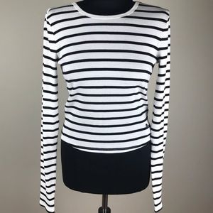 Abercrombie & Fitch striped long sleeve